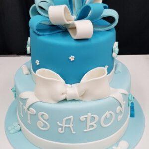 Babyshower en geboorte taarten